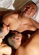 熱愛ゲイカップル、マラリーマンとモデルルーム見...
